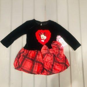 Disney Minnie Mouse Velvet Dress